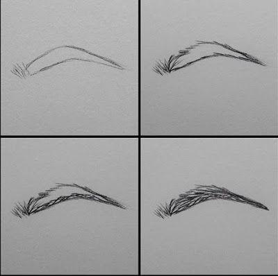 مرحبا اصدقائي درس اليوم بسيط وسهل جدا عن طريقة رسم الحواجب بالخطوات ويعتبر هذا الدرس البسيط مكمل لدرس رس How To Draw Eyebrows Drawings Art Drawings Sketches