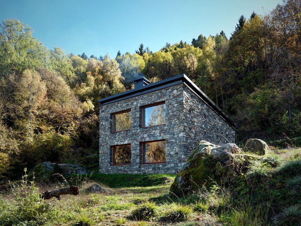 An 800 square feet stone cottage in Sondrio, Province of Sondrio ...