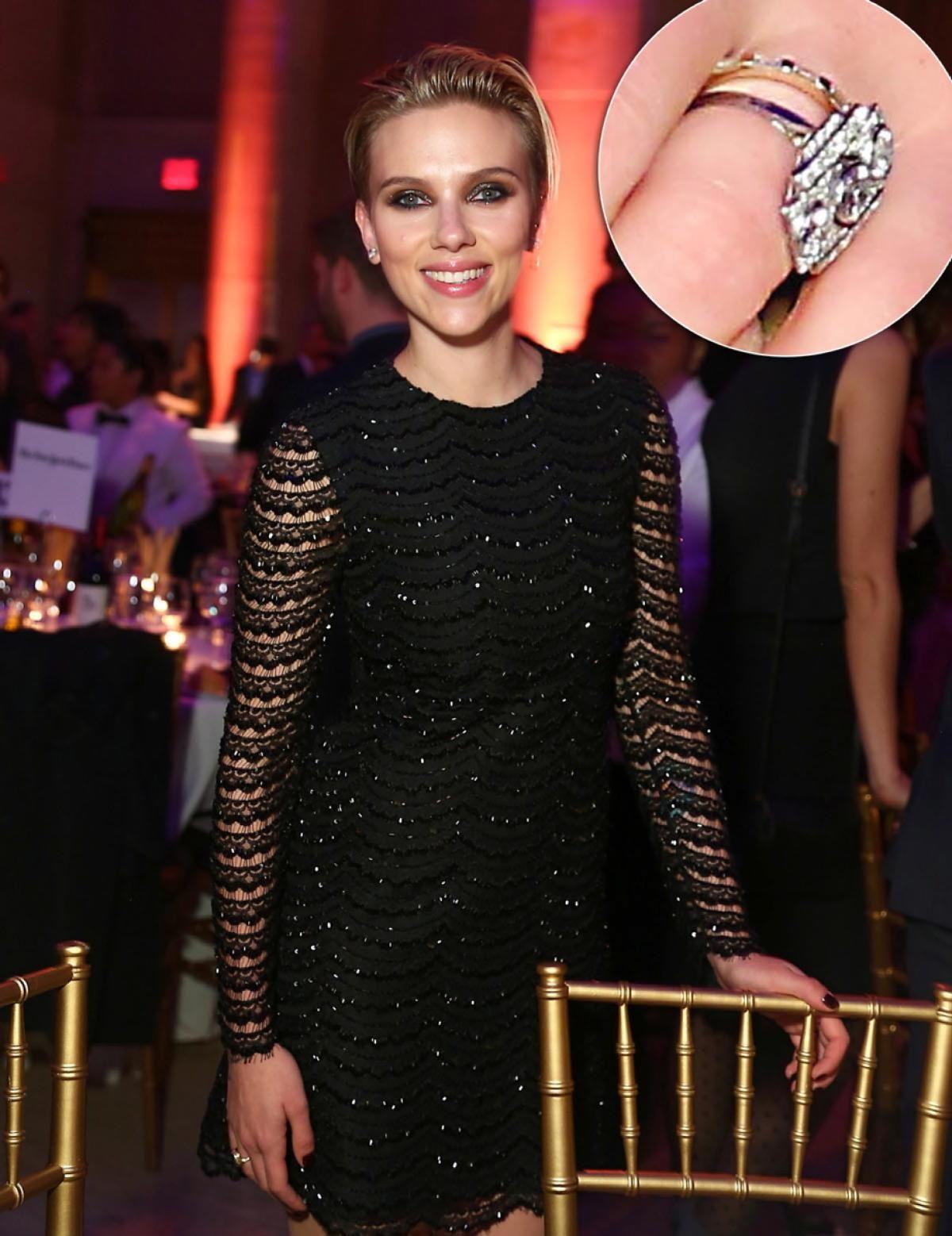 Scarlett Johansson Photos Celebrity bling and