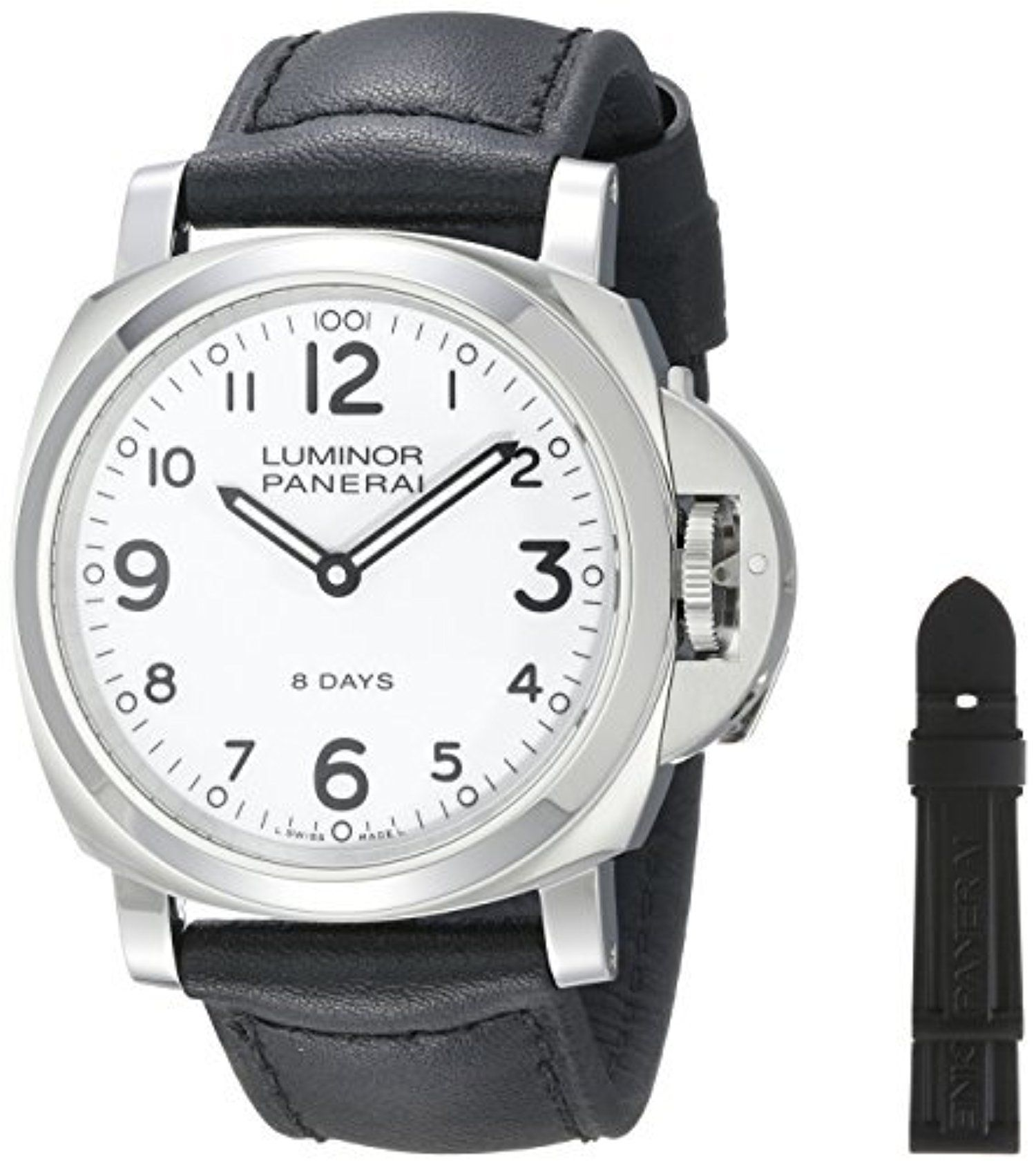 Panerai Men's PAM00561 Luminor Analog Display Mechanical Hand Wind Black Watch by Panerai -- Awesome products selected by Anna Churchill
