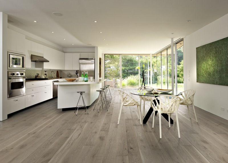 Oak Nouveau Gray Classic Nouveau Collection Engineered Wood Floors Wood Floor Kitchen Engineered Hardwood Flooring Wide Plank