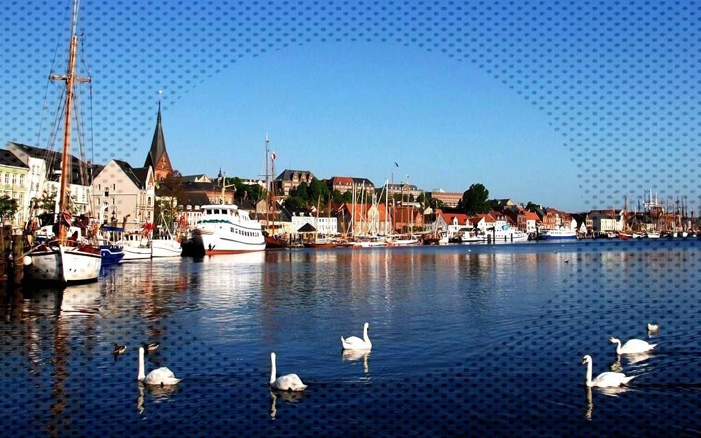 Flensburg, Schleswig-Holstein, Northern Germany -