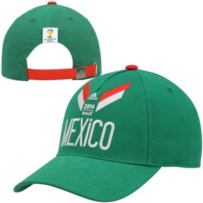 cc85e3bd7c6c Mexico World Cup Soccer Adjustable Strapback Hat | World Cup Soccer ...