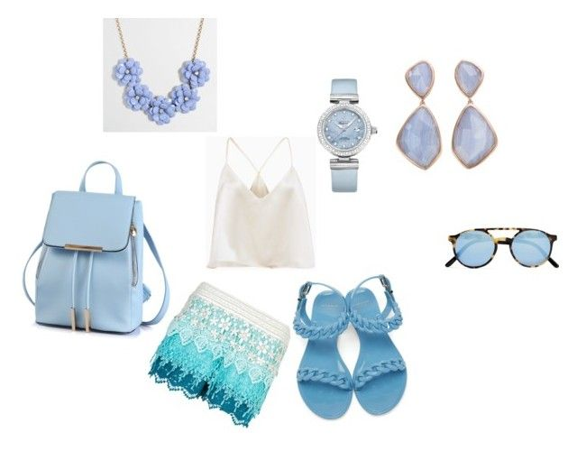 """""""Untitled #32"""" by uniquenikkole on Polyvore featuring New Look, Givenchy, J.Crew, OMEGA, Sheriff&Cherry and Monica Vinader"""