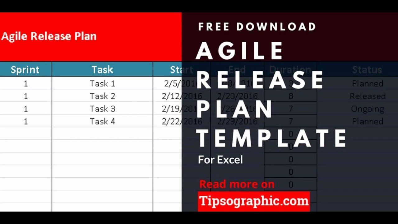 30 Agile Project Plan Template Excel in 2020 Simple