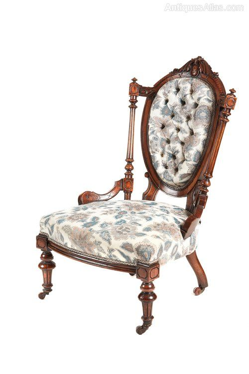Victorian Walnut Ladies Chair ~ antiques-atlas.com - Victorian Walnut Ladies Chair ~ Antiques-atlas.com Стулья