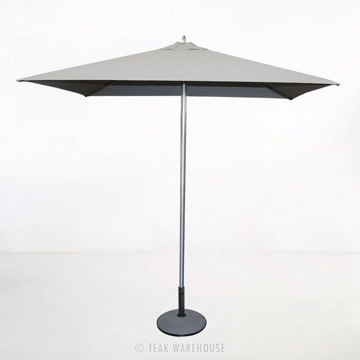 Awesome Tiki Square Patio Umbrella (Grey)