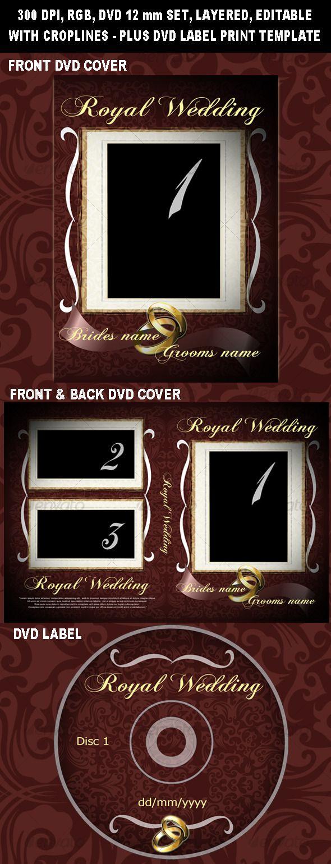 royal wedding dvd cover cd dvd artwork print templates cover
