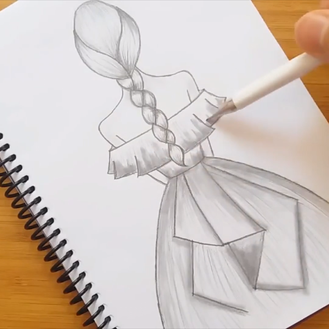 Beautiful Pencil Sketch Video In 2020 Art Drawings Sketches Simple Drawings Art Drawings Sketches Creative