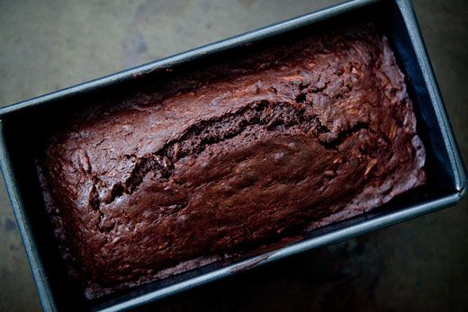 Chocolate Zucchini Bread by Simply Recipes. Makes 2 loaves and uses 4 cups of zucchini... a good deal when you're overcome by zucchini in your garden.