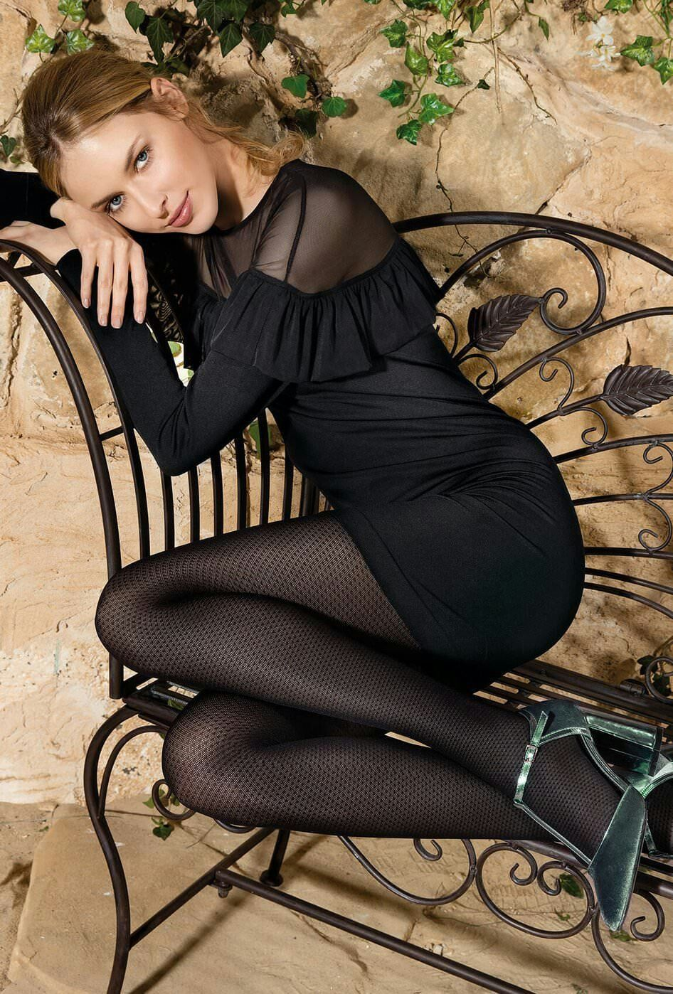 Pin by b w on stylish pantyhose outfit pinterest stockings