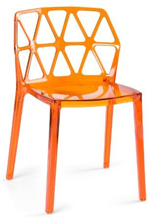 Chair For Me Dining Chairs Stacking Dining Chair Orange
