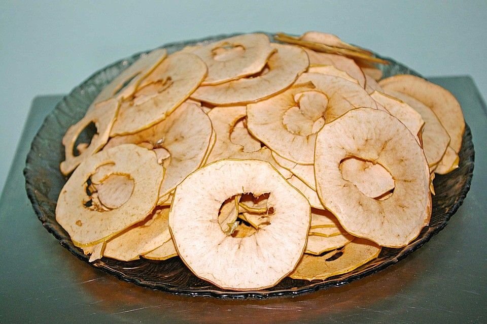 Apfelringe, im Ofen gebacken von Fanca | Chefkoch #Äpfelverwerten