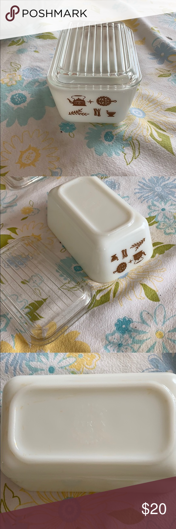 Pyrex 0502 Mint condition 0502 1 1/2 pint early American Pyrex Other