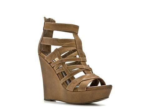Mia Ltd. Edition Cherie Wedge Sandal | Wedge sandals, Wedges