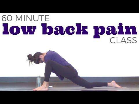 back pain yoga youtube