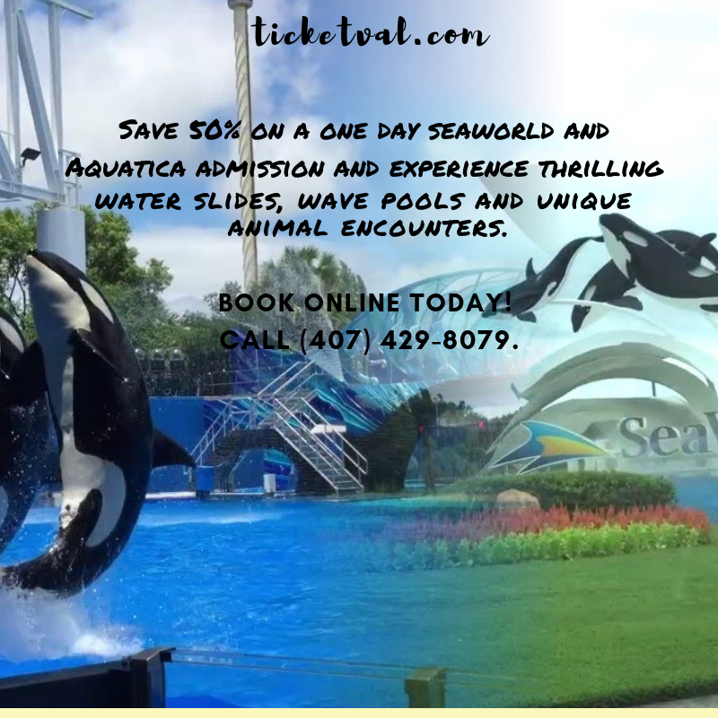 2 Seaworld Aquatica With Free Parking 35 Total Just Attend Our 90 Min Breakfast Tour Of Our Resort And Orlando Theme Park Tickets Orlando Tickets Theme Park