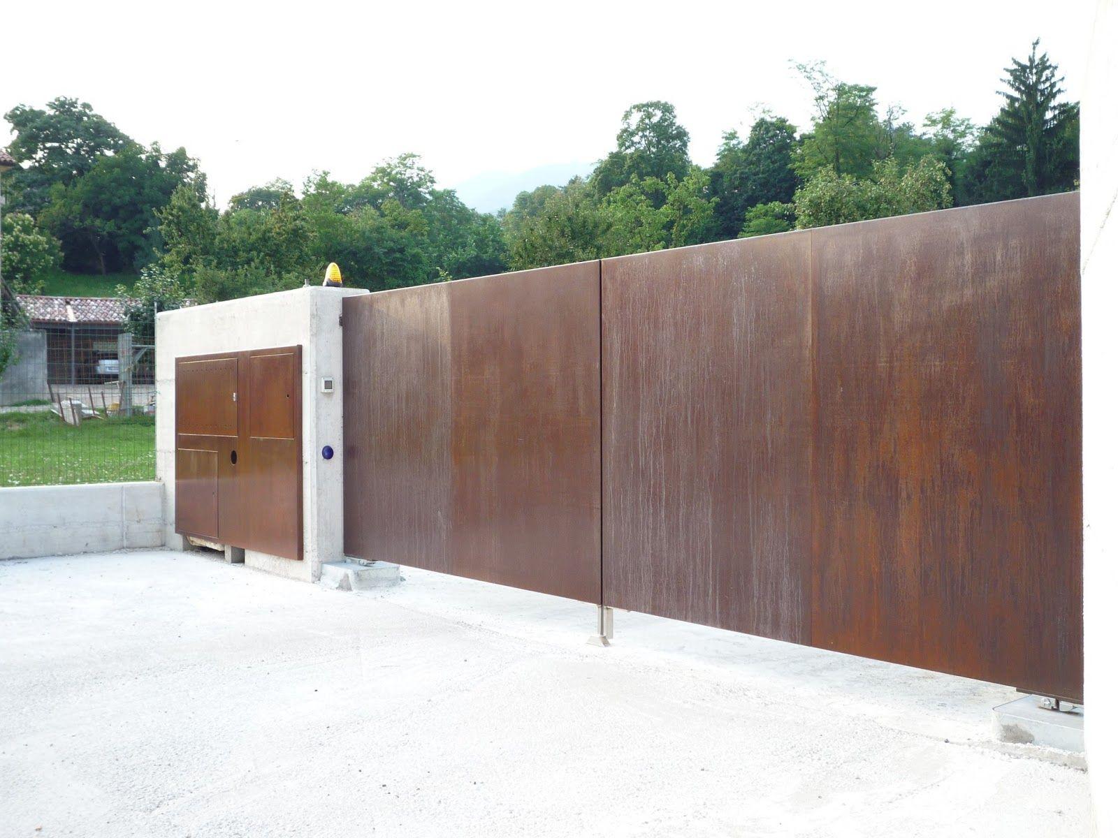 Cancello Esterno Moderno : Cancelli da esterno cancelli moderni cancelli scorrevoli cancelli