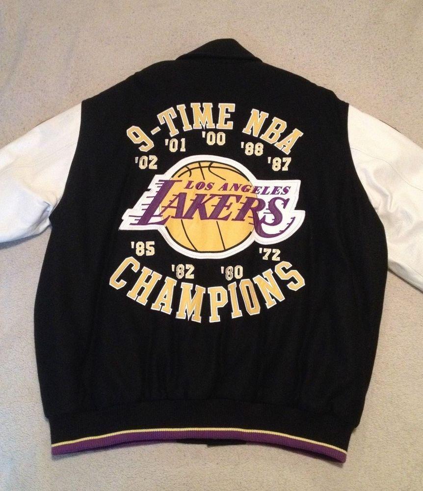 Vintage G Iii Los Angeles Lakers Nba Leather Jacket Nwot Xxl Kobe Lonzo Kuzma Los Angeles Lakers Lakers Jackets