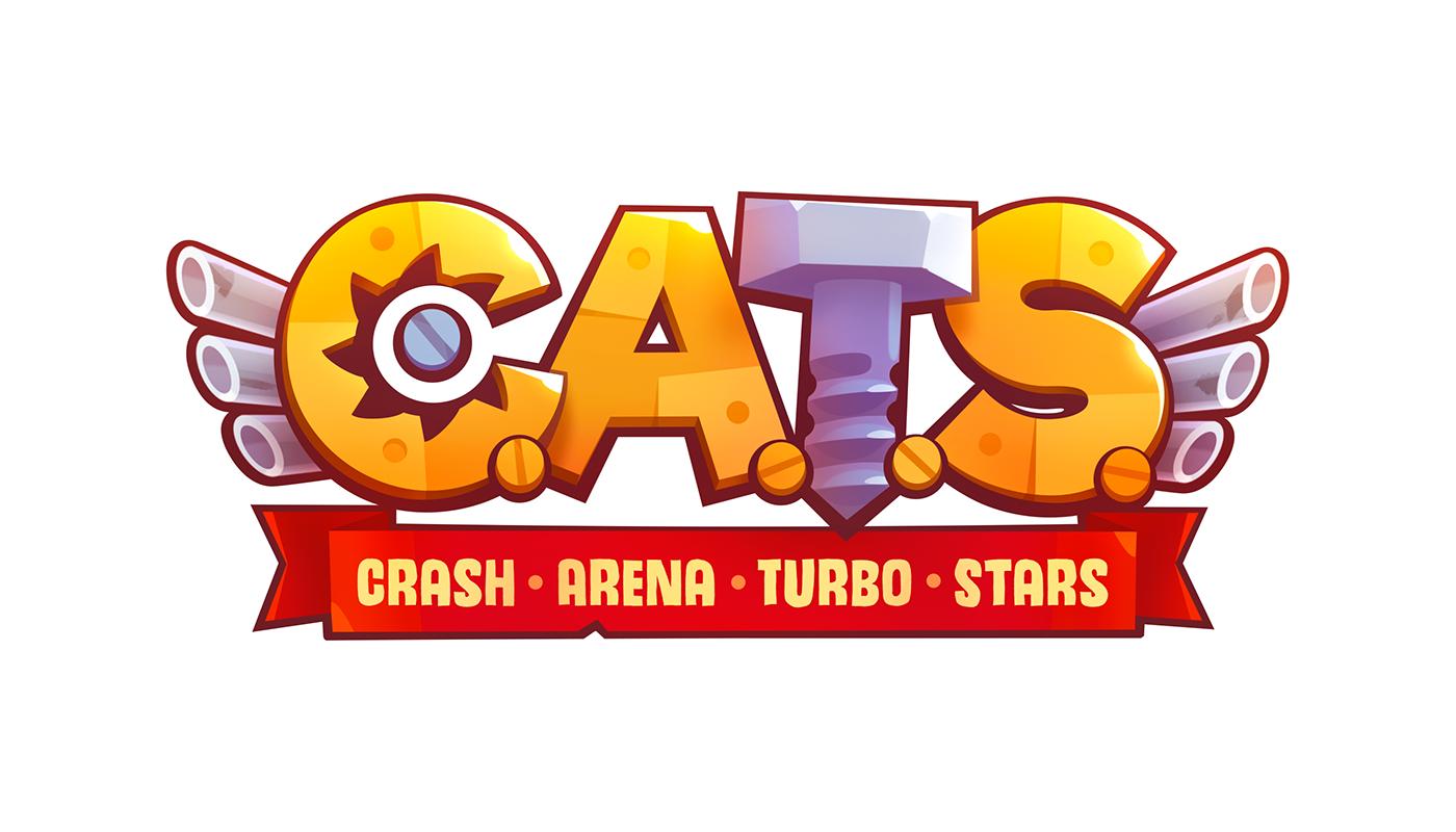 """다음 Behance 프로젝트 확인 """"Logo C.A.T.S."""" https//www.behance"""