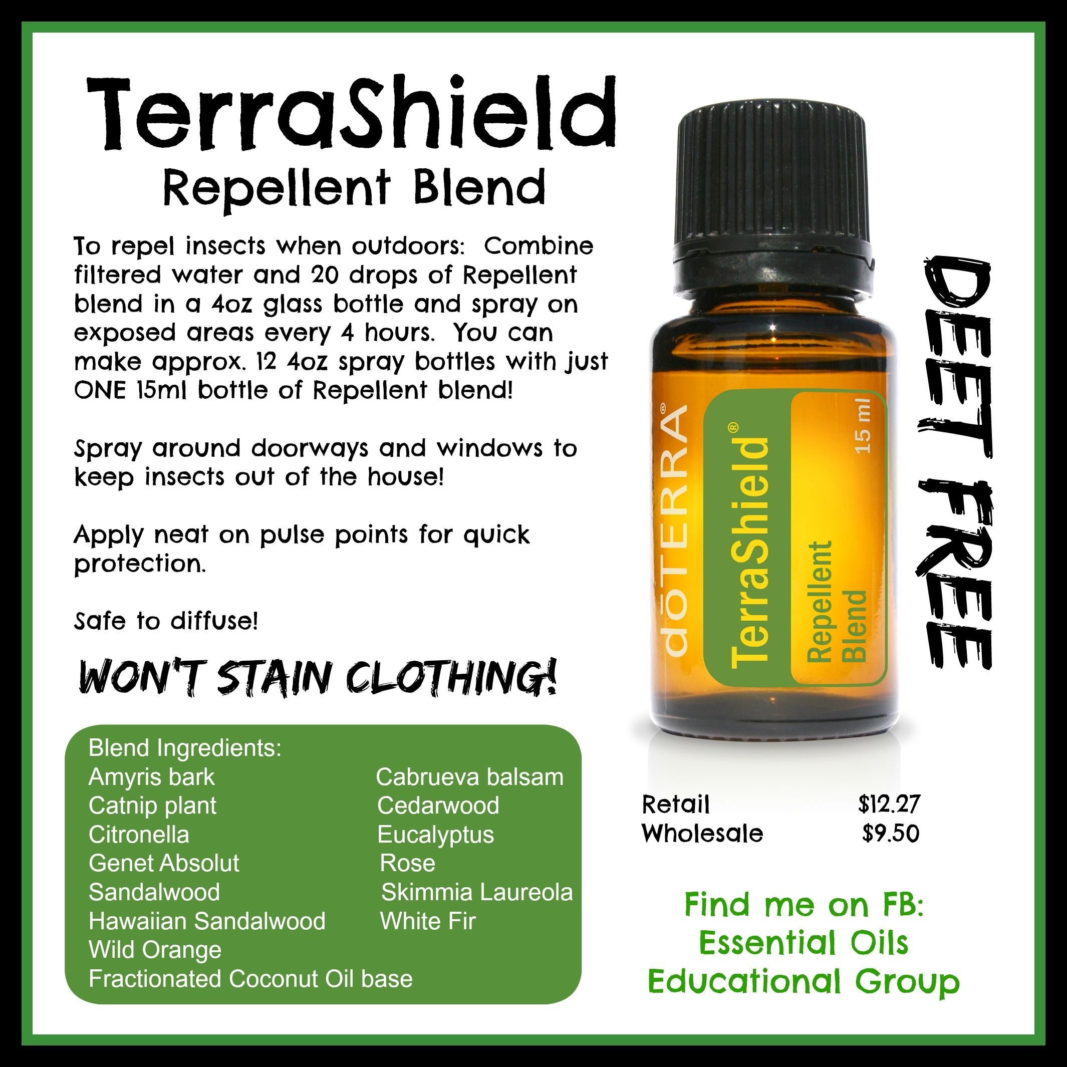 Doterra Best Natural Insect Repellent Blends