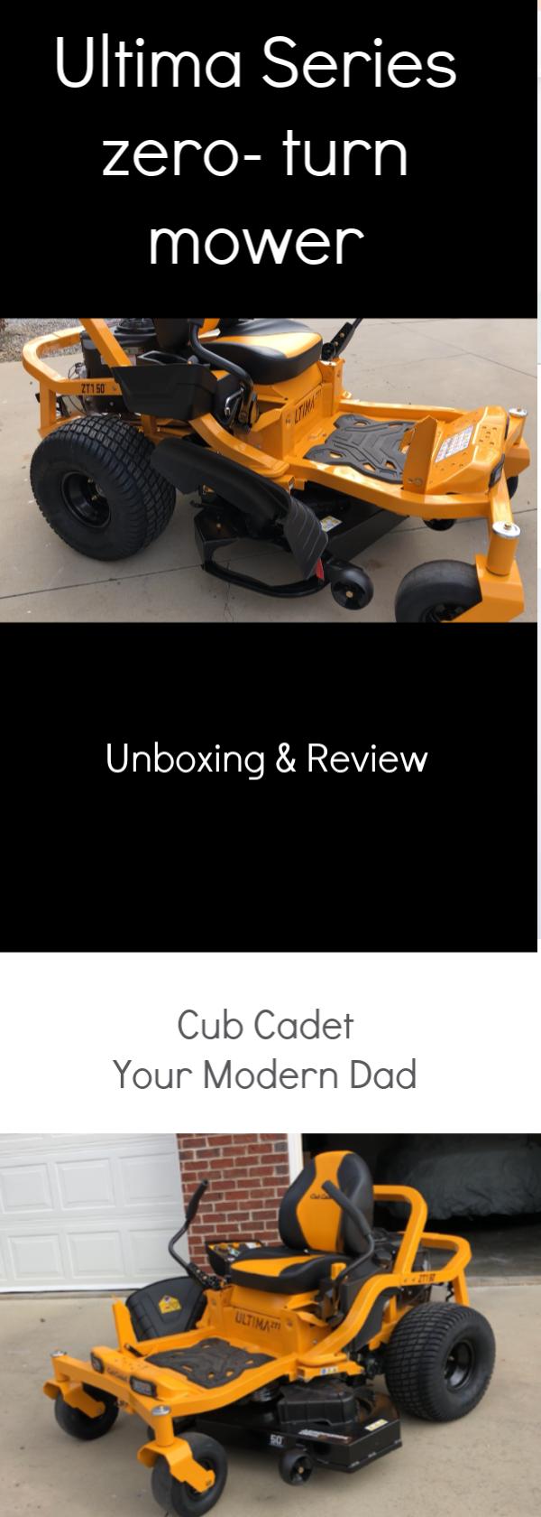 3ebafc0e1a8 Cub Cadet Ultima Series zero- turn mower review #ad @CubCadet_USA #Lawncare  #unboxing #review #tractor #cubcadet #farmlife #yard #Farming