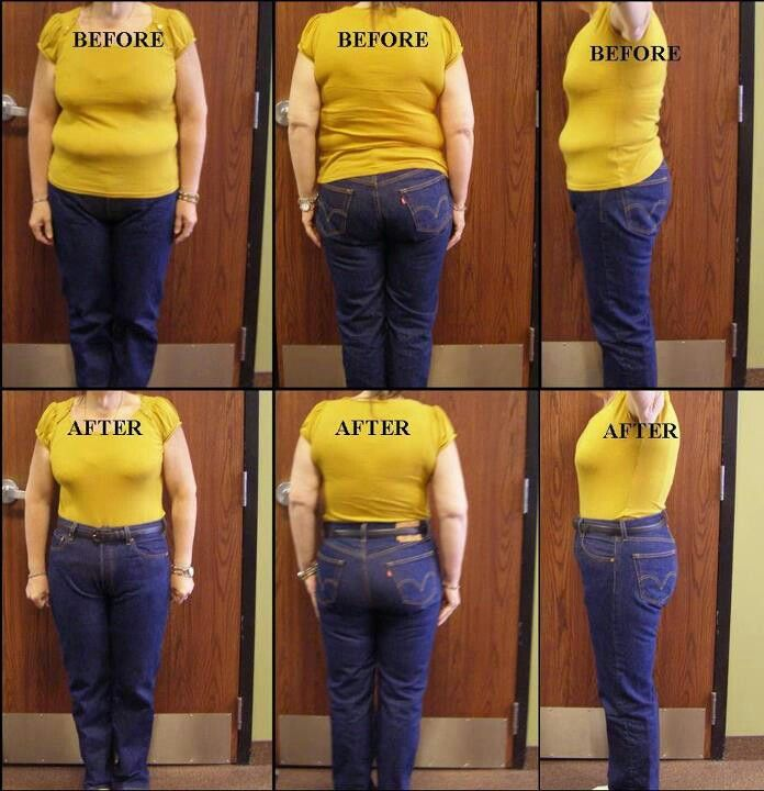 Before And After The Corset Hair Waist Training