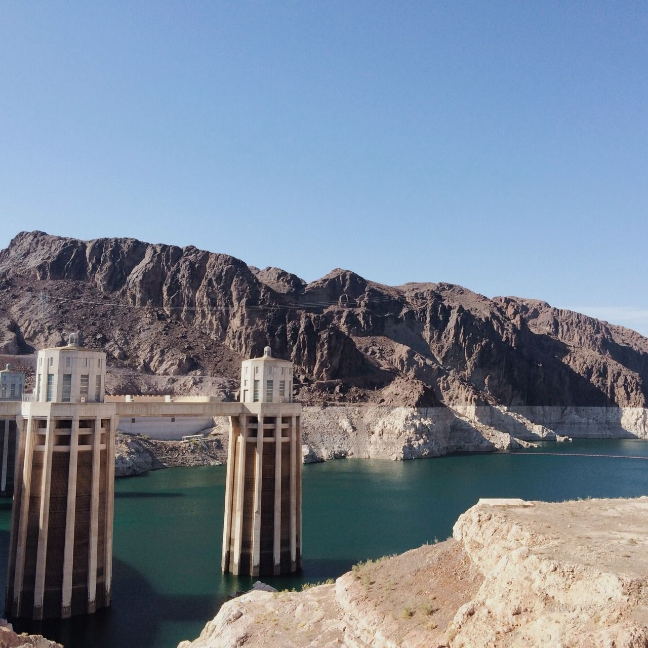 A random decision to drive to Arizona nearly resulted in us never coming home. While the Hoover Dam is amazingly beautiful, it is also amazingly HOT, so plan to go in the morning or evening when it's a bit cooler so you don't end up with nosebleeds or near death experiences.