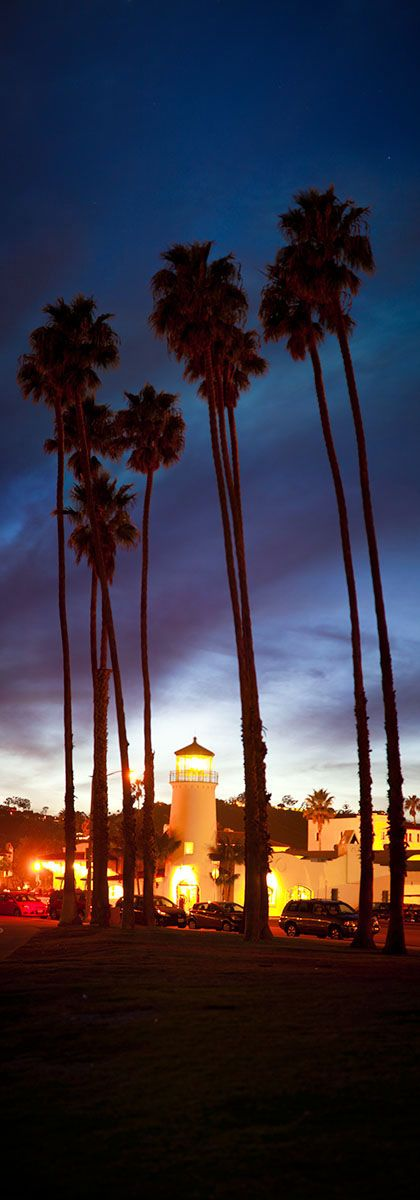 Santa Barbara Lighthouse - http://www.greatbigphotos.com/products/landmarks/santa-barbara-lighthouse/