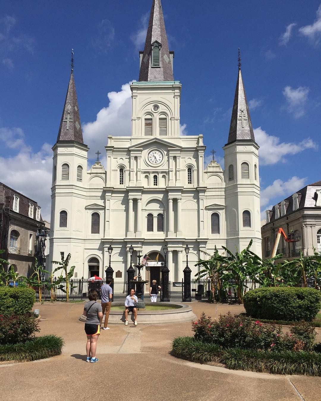 St Louis Cathedral #neworleans #louisiana #frenchquarter #nola #uktousa #travel #live #life #memories #holidays #fun #times #meandmyboy #love #history #culture by pink_butterfly