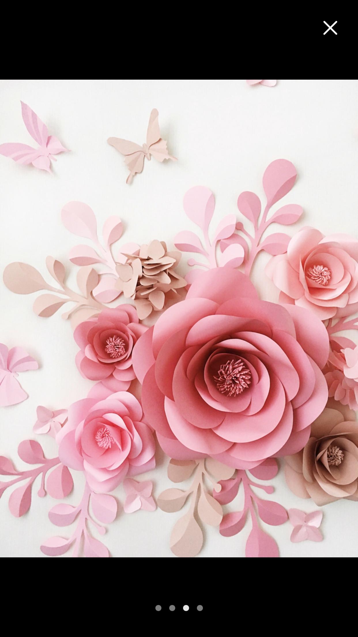 Pin de Graciela Orellana en Paper Flowers | Pinterest | Flores de ...