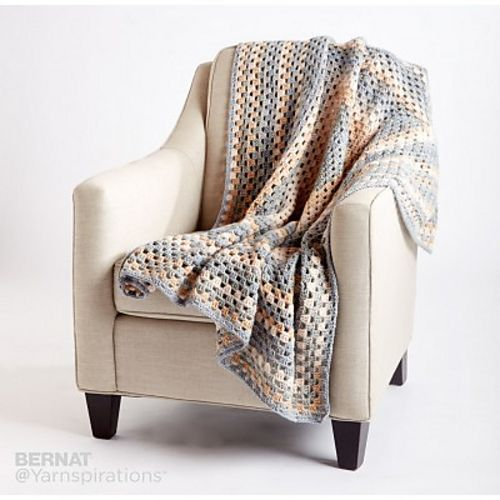 Ravelry: All For One Crochet Blanket pattern by Bernat Design Studio ...