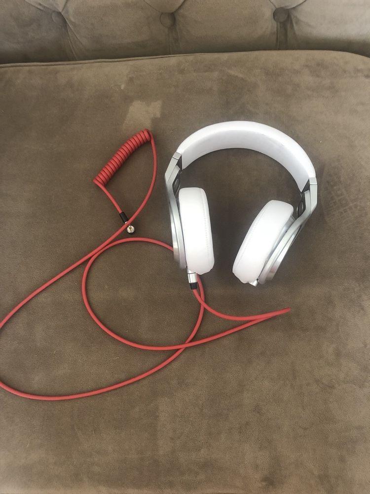 d4e47dd893c Genuine Beats by Dr. Dre PRO Over Ear Headphones - White (eBay Link ...