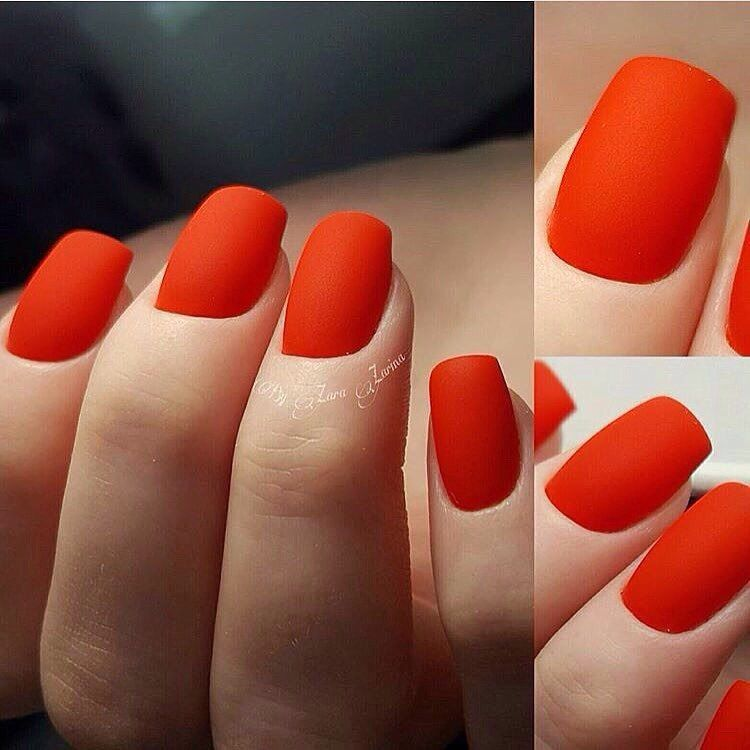 Beautiful Nails 2017 Luxurious Luxury Matte Medium For Business Lady Office Plain