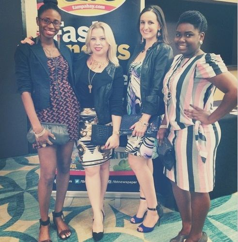 Our Outfit Monday: The Deal Divas go to Tampa Bay Fashion Week -- via @tampabaytimes | Sept. 22, 2014 #TBFW #FWTB