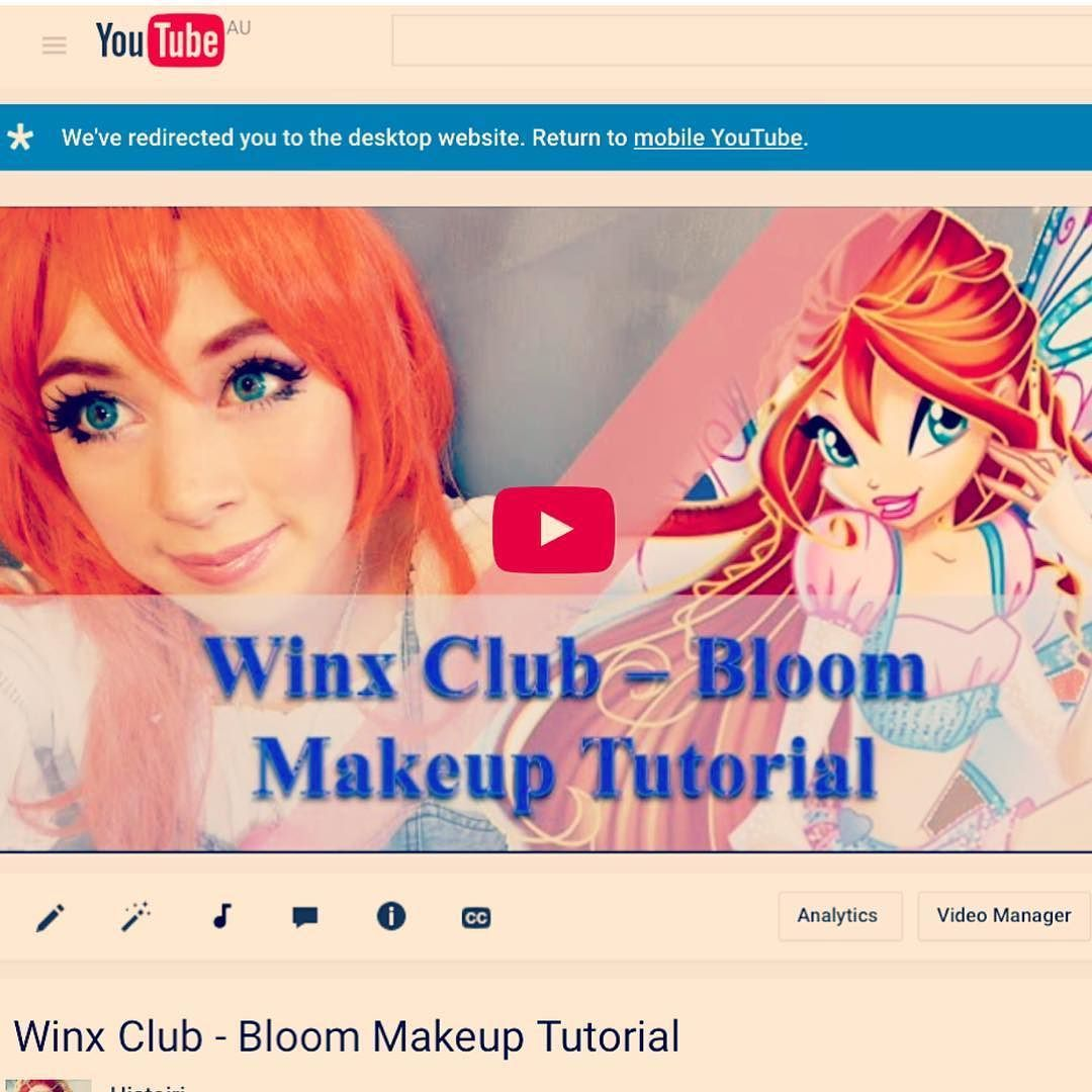 Hey guys i did a makeup tutorial on bloom from the winx club link hey guys i did a makeup tutorial on bloom from the winx club link is baditri Gallery