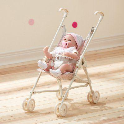 Pink Bassinet Stroller