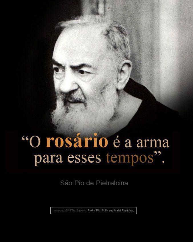 São Pio De Pietrelcina São Padre Pio Frases Catholicism St Pio