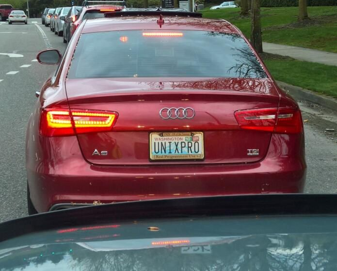 Programmer Vanity License Plate