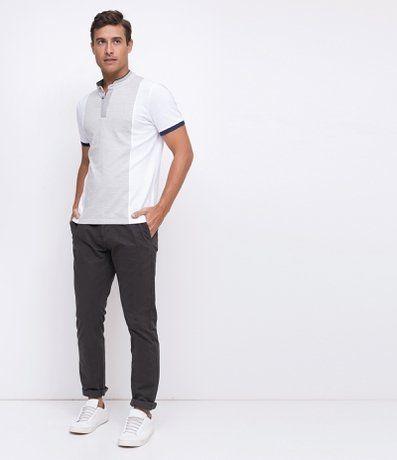 Camisa Polo Slim Gola Padre em Piquet - Renner  7fa26a0d33aea