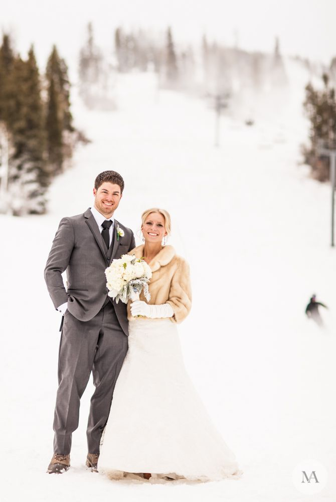 Sam And Nate S Intimate Winter Wedding Winter Wedding Fur