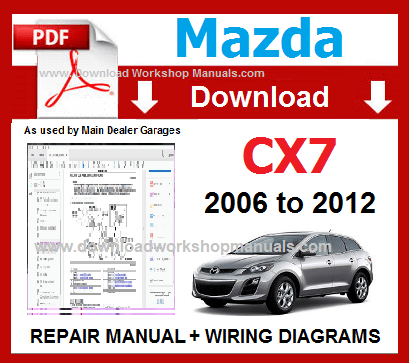 mazda wiring diagram pdf mazda cx7 pdf workshop repair manual repair  service  wiring mazda 626 wiring diagram pdf mazda cx7 pdf workshop repair manual