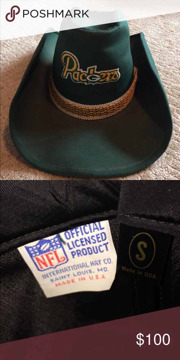 Packer cowboy hat Green Bay Packer cowboy hat Accessories Hats  8499549ea6b