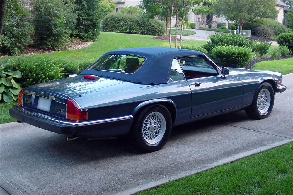 1989 Jaguar Xjs Convertible Barrett Jackson Auction Company Jaguar Xjs Convertible Jaguar Car Jaguar