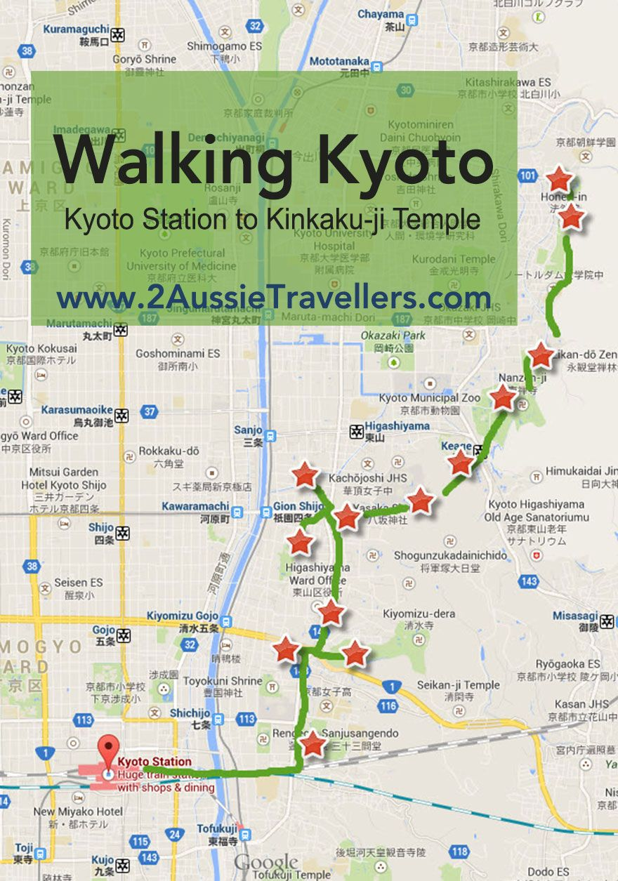 List of Synonyms and Antonyms of the Word kyoto walking map