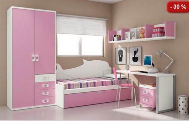 Muebles modulares para dormitorios infantiles 3 camas for Camas infantiles diseno moderno