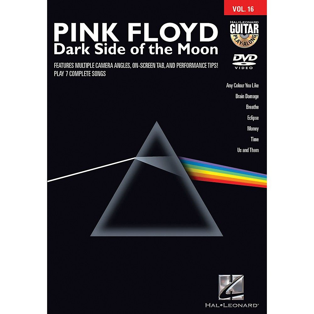 Hal Leonard Pink Floyd Dark Side Of The Moon Guitar Play Along