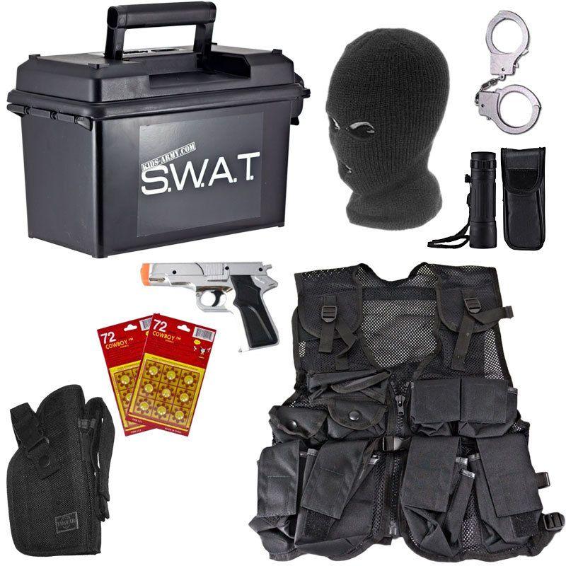 Spy Academy Police Officer Metal Handcuffs #gunsammo