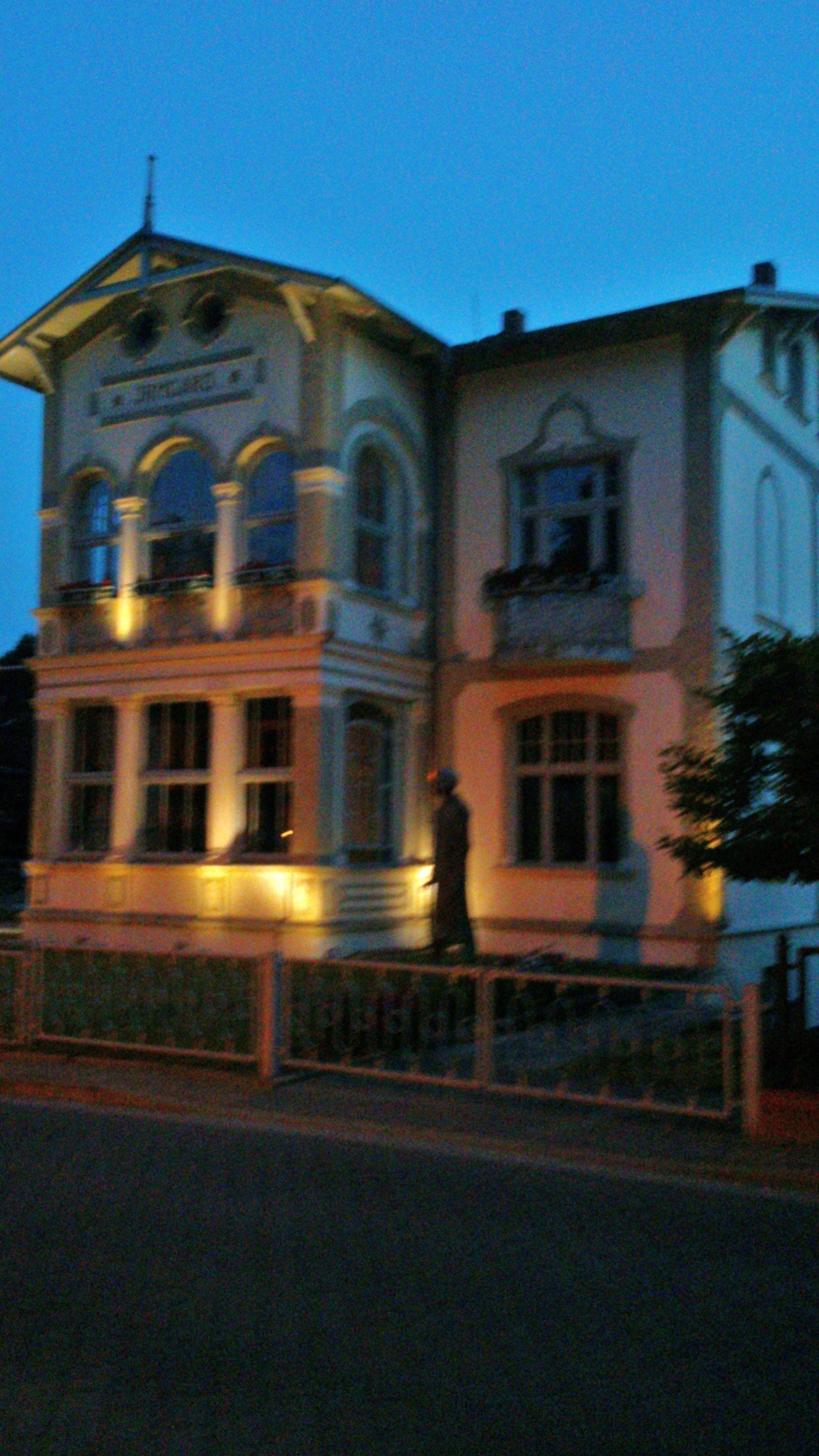 Wohnhaus auf der Insel Usedom von Maxim Gorki, jetzt