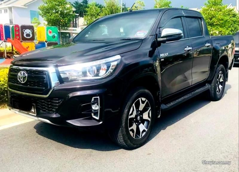 New Toyota Hilux 2020 For Sale Rm32 800 In Selayang Kuala Lumpur Malaysia Toyota Hilux 2 4 Revo Limited Edition 4 In 2020 Toyota Hilux Toyota Hot Rods Cars Muscle
